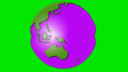 MORPHING GLOBE Animation
