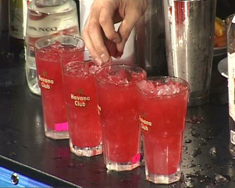 cocktail Stock Video Footage