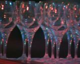 wine glasses Footage