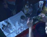 cocktail preparation Footage