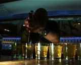 Barmen Nightclub stock footage