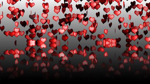 Hearts Mirror 01 Stock Video Footage
