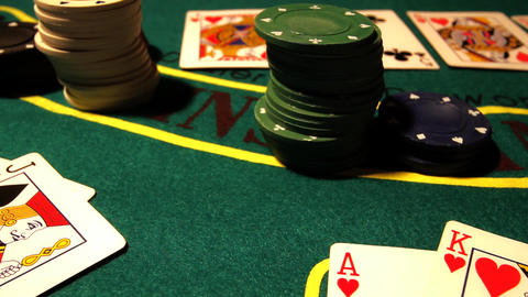 Poker 06 dolly Stock Video Footage