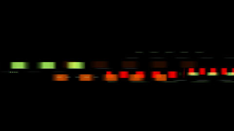 color squares with speed... Stock Video Footage