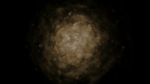 group of brown rotation soft tangles,like as clouds in... Stock Video Footage