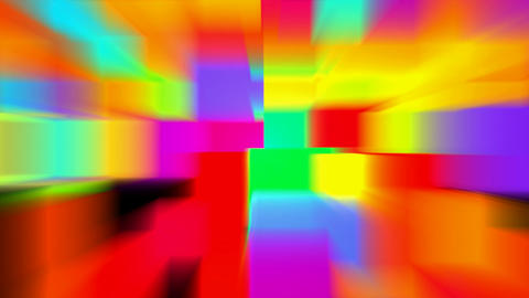 color block pattern,light rays,computer web tech... Stock Video Footage