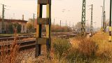 Junk Environment at Railway 03 suburban area Footage