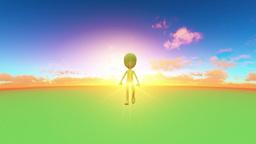 Dolls walk Animation
