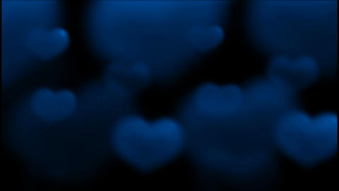 blue heart.wedding,flare,festival,aurora,glow,pulse Animation