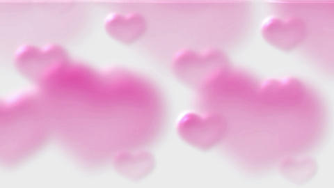 pink heart.wedding,flare,festival,aurora,glow,pulse Stock Video Footage