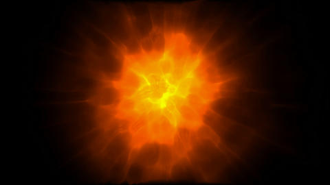 supernova explosion in universe,fire.gold,flame,flare,aura,nuclear,brightly,burn Animation