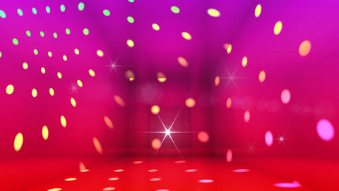 Disco Light Be HD Stock Video Footage