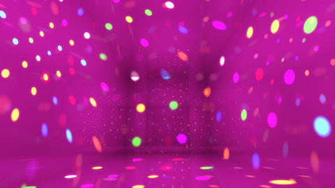 Disco Light Bg HD Stock Video Footage