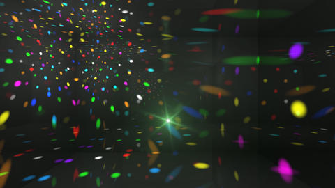 Disco Light Ca HD Stock Video Footage