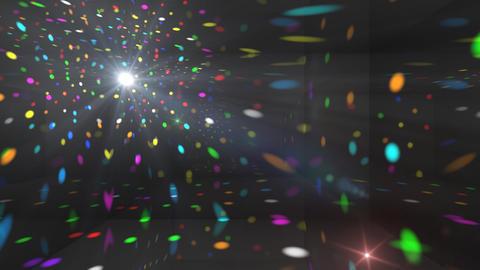 Disco Light Cb HD Stock Video Footage