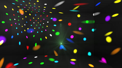 Disco Light Cc HD Stock Video Footage