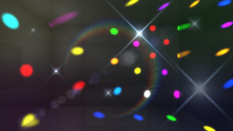 Disco Light Cd HD Stock Video Footage