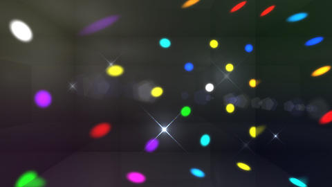 Disco Light Cd HD Animation