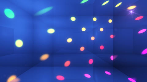 Disco Light Cj HD Stock Video Footage