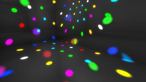 Disco Light Dc HD Stock Video Footage