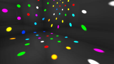 Disco Light Dd HD Animation