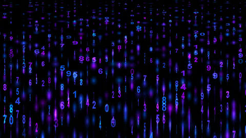 Digital matrix background,mathematics,computing,decryption,hacker,accounting,algorithms,trade,commer Animation