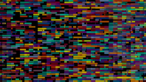 Color bricks... Stock Video Footage