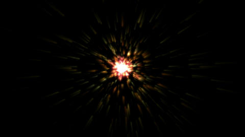 explosion,starbust in... Stock Video Footage