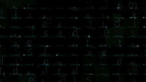 abstract letters matrix background.Files,storage,backup,mathematics,numbers,accounts,tax,search,soft Animation