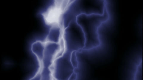 Blue Lightning Streaks.amps,atmospheric,bright,dangerous,dramatic,electric Animation