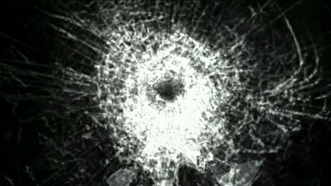 Gun shots in glass,splash,Shooting,armed,military,strength,target,combat,assassinations,assassin,Des Animation