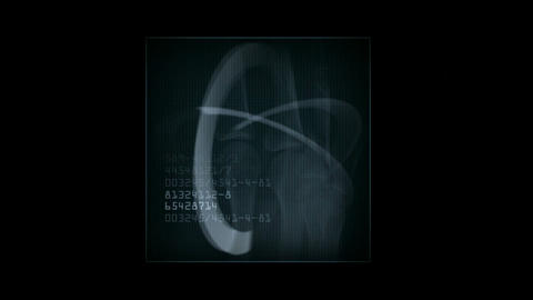 finger bones scan,tech medical X-ray scanning software... Stock Video Footage
