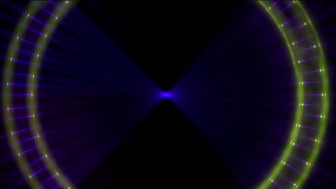 Animation of color pulse ray,Scanning,detection,radiation,ray,bloom,particle,symbol,dream,vision,ide Animation