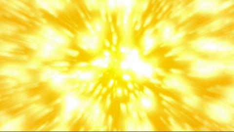 flare golden stars and rays light laser,explosion dazzling particle and fire in space Animation