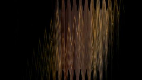 golden waveform,rays... Stock Video Footage