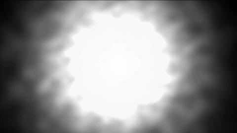 Nuclear explosion,Dazzling white aura... Stock Video Footage