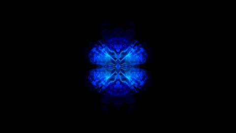 retro blue fancy pattern,Oriental Zen... Stock Video Footage
