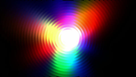 flare circle light with ripple,disco laser ray.aura,blue,bright,flash,flowing Animation