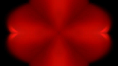 red flare flower pattern,Bright glow light,frame,Design,symbol,dream,mind,creativity Animation