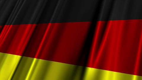 EURO 2012 Group B Flags 02 Stock Video Footage