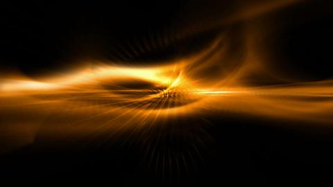 gold ray light,fiber... Stock Video Footage