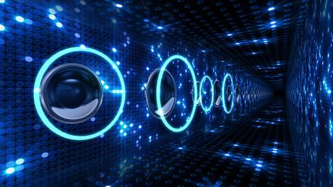 Disco Space 3 PBmC2 HD Stock Video Footage