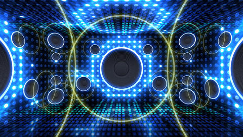 Disco Space 3 RAfD1 HD Stock Video Footage