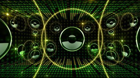 Disco Space 3 RArD3 HD Stock Video Footage
