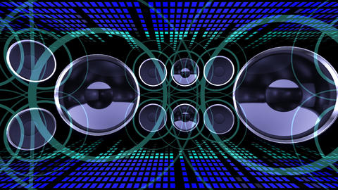 Disco Space 3 CBrL HD Stock Video Footage