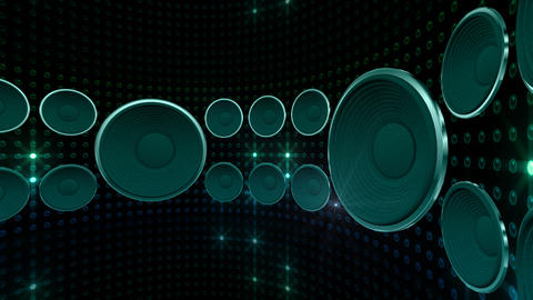 Disco Space 3 CDrD3 HD Stock Video Footage