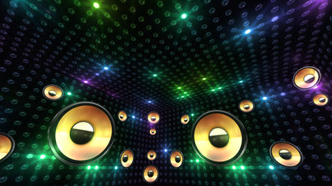 Disco Space 3 RBrD2 HD Stock Video Footage