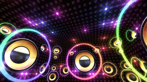 Disco Space 3 RBrD2 HD Animation