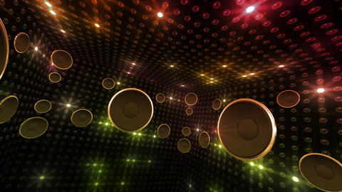 Disco Space 3 RCrD2 HD Stock Video Footage