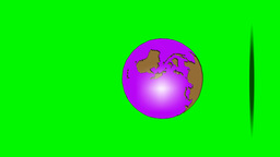 BOUNCING GLOBE (vertical) Animation